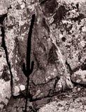 孤立山阴影 免版税库存图片