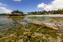 孤立海岛海滩 图库摄影