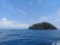 孤立海岛 免版税图库摄影