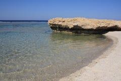 孤立海滩 免版税库存图片