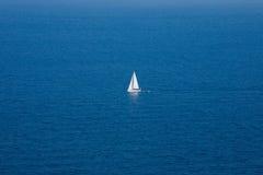 孤立游艇 图库摄影