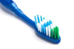 孤立牙刷 免版税库存照片