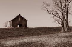 孤立的谷仓 免版税库存照片