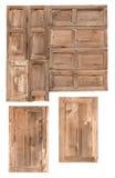 孤立老木窗口 库存照片