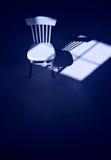 孤零零的椅子 图库摄影
