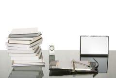 学习工作的服务台 免版税图库摄影