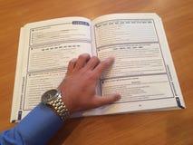 学习意大利语 免版税图库摄影