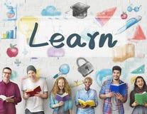 学会学会进展改善概念的教育 免版税图库摄影