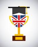 学会英国设计 向量例证
