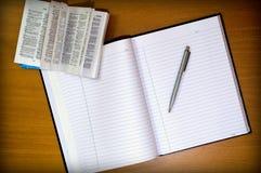 学会英语 免版税库存照片