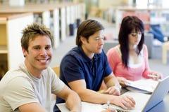 学员学习 免版税库存照片