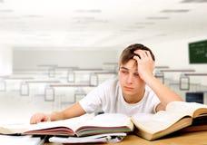 学员疲倦 免版税库存照片