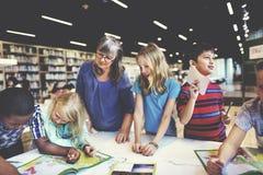 学术学校Childern电子教学地理概念 免版税图库摄影