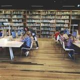学术学校Childern电子教学概念 库存照片
