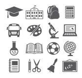 学校和教育象 库存图片