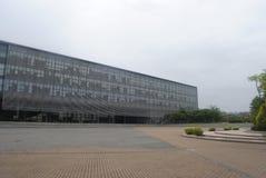 学校图书馆 免版税库存图片