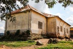 学校在刚果 免版税图库摄影
