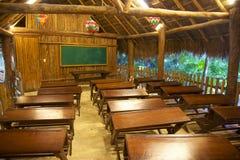 学校在墨西哥 免版税库存图片