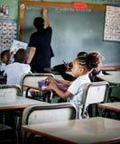 学校在多米尼加共和国 免版税库存图片