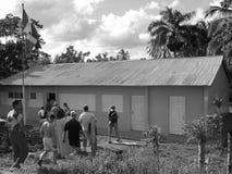 学校在多米尼加共和国 库存照片