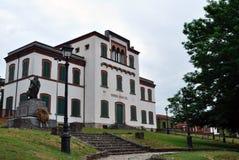 学校在意大利 免版税库存图片