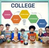 学校大学教育智力概念 图库摄影