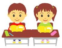 学校孩子 免版税图库摄影
