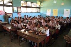 学校孩子 免版税库存照片