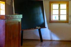 学校室内部  免版税库存图片