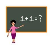 学校教师 向量例证