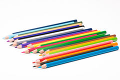 学校的铅笔 免版税图库摄影