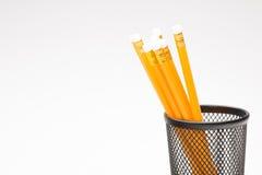 学校的铅笔 免版税库存照片