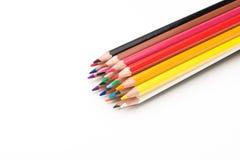 学校的铅笔 库存照片