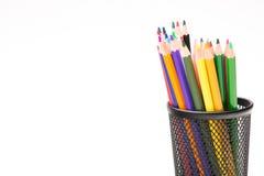 学校的铅笔 图库摄影
