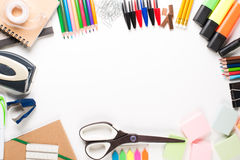学校设备 免版税库存图片