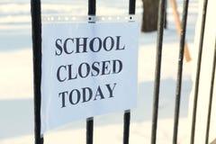 学校闭合的应得物 免版税图库摄影
