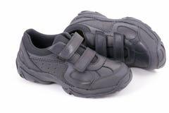 学校鞋子 免版税库存图片