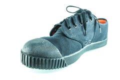 学校鞋子 免版税图库摄影