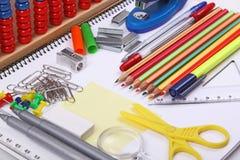学校项目 免版税库存照片