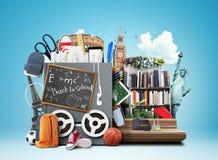 学校,教育 免版税库存图片
