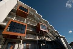 学生住房在欧登塞,丹麦 库存图片