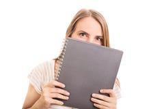 学生和笔记 库存图片