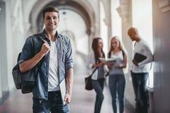学生在大学 免版税库存图片