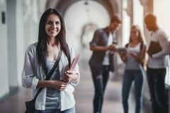 学生在大学 图库摄影