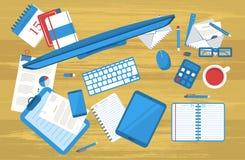 学生平的工作表 免版税库存图片