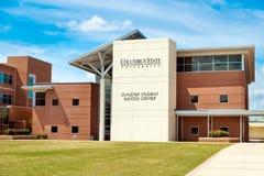 学生文娱中心在哥伦布州立大学 免版税图库摄影