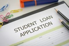 学生贷款 免版税库存图片