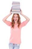 年轻学生 免版税库存图片