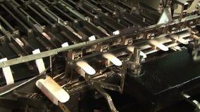 医学的自动化的生产 包装药物 股票录像