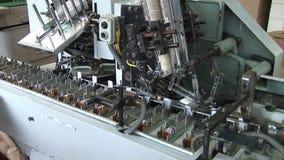 医学的自动化的生产 包装药物 股票视频